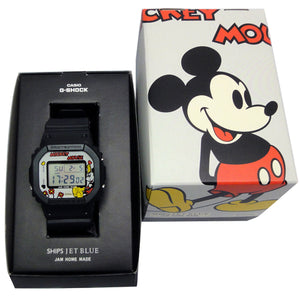 "Casio G SHOCK x ""DISNEY MICKEY MOUSE"" & ""JAM HOME MADE"" & ""SHIPS JET BLUE"" DW-5600VT"