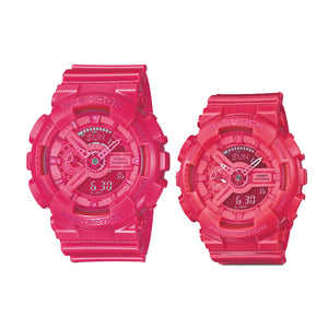 "Casio G SHOCK G Presents ""PAIR COLLECTION"" GA-110B & GMA-110CC (Pink)"