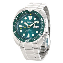 "Load image into Gallery viewer, Seiko Prospex Japan domestic Exclusive ""GREEN TURTLE DIVER SCUBA"" SBDY039"