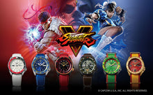 "Load image into Gallery viewer, Seiko 2020 x ""STREET FIGHTER"" ""ZANGIEF' Seiko 5 Sport Limited Edition SRPF24K1"