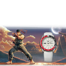 "Load image into Gallery viewer, Seiko 2020 x ""STREET FIGHTER"" ""RYU' Seiko 5 Sport Limited Edition SRPF19K1"