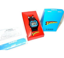 "Load image into Gallery viewer, Casio G SHOCK x ""DC Comics SUPERMAN"" DW-5600VT"