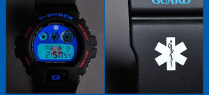 "Casio G Shock X ""STAR OF LIFE (GUARD)"" DW-6900D-9"