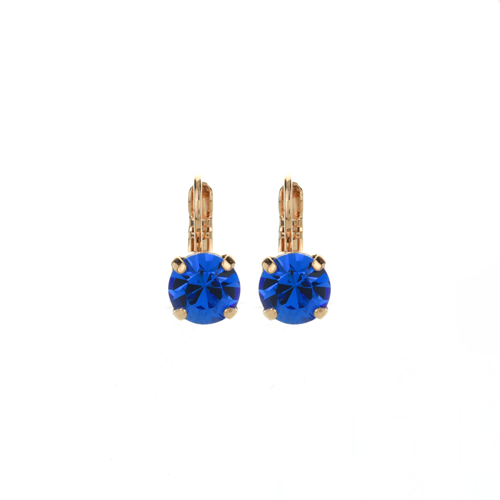 "Must-Have Everyday Leverback Earrings in ""Sapphire"" *Preorder*"