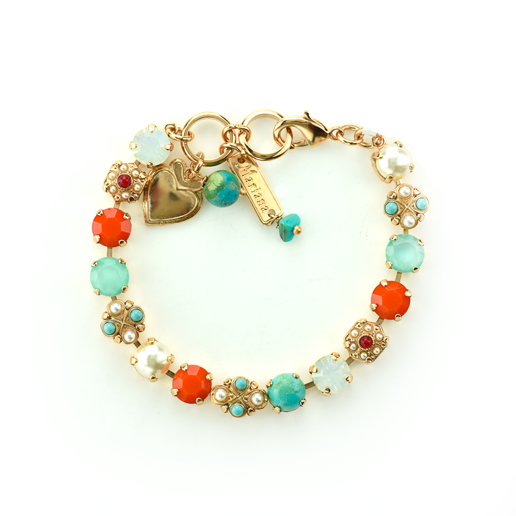 "Must-Have Cluster Bracelet in ""Happiness-Turquoise"" *Preorder*"