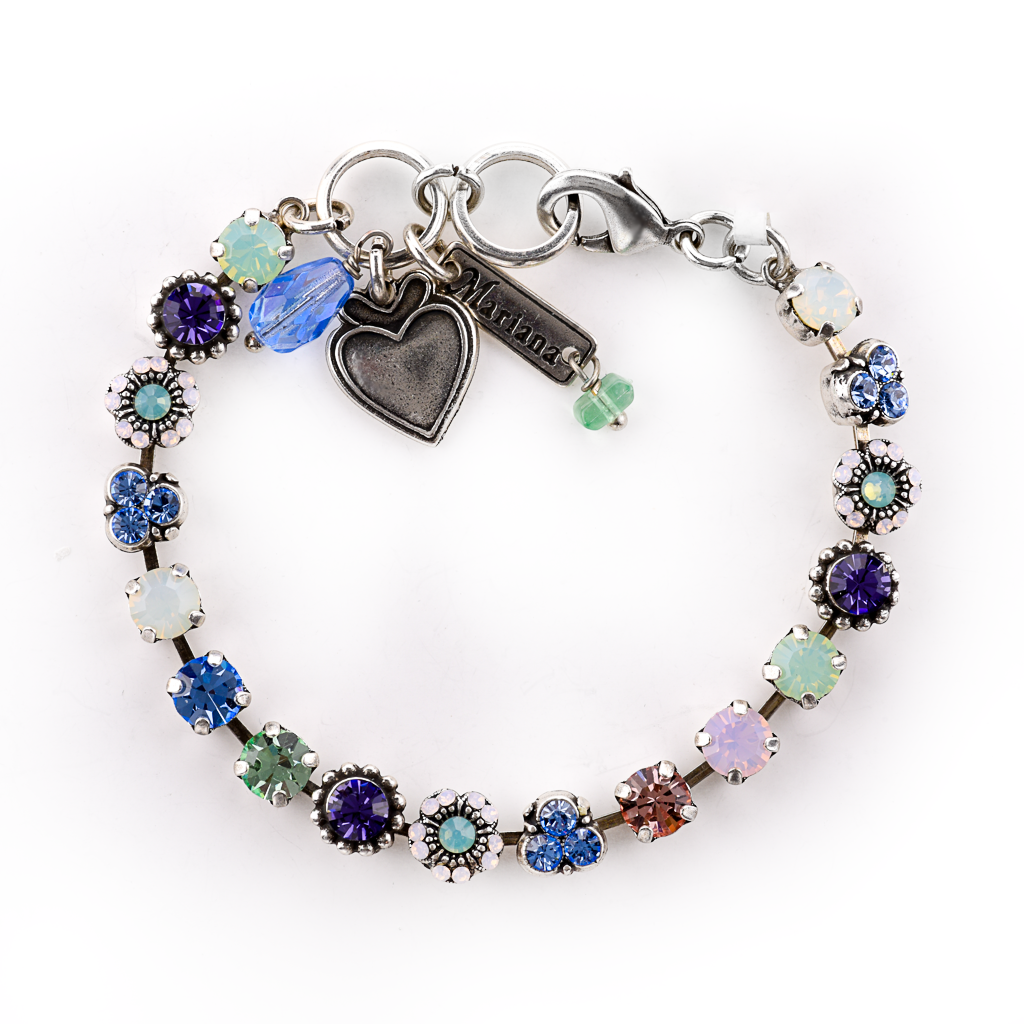 "Petite Flower and Cluster Bracelet in ""California Dreaming"" *Preorder*"