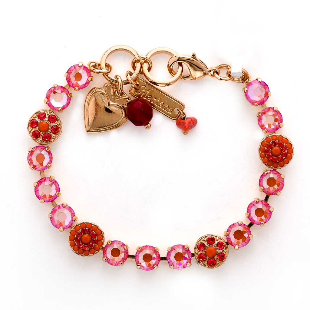 "Must-Have Rosette Bracelet in Sun-Kissed ""Sunset"" *Preorder*"