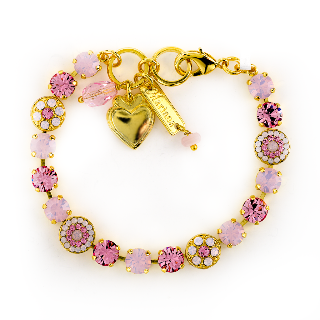 "Must-Have Rosette Bracelet in ""Rose Opal"" *Preorder*"