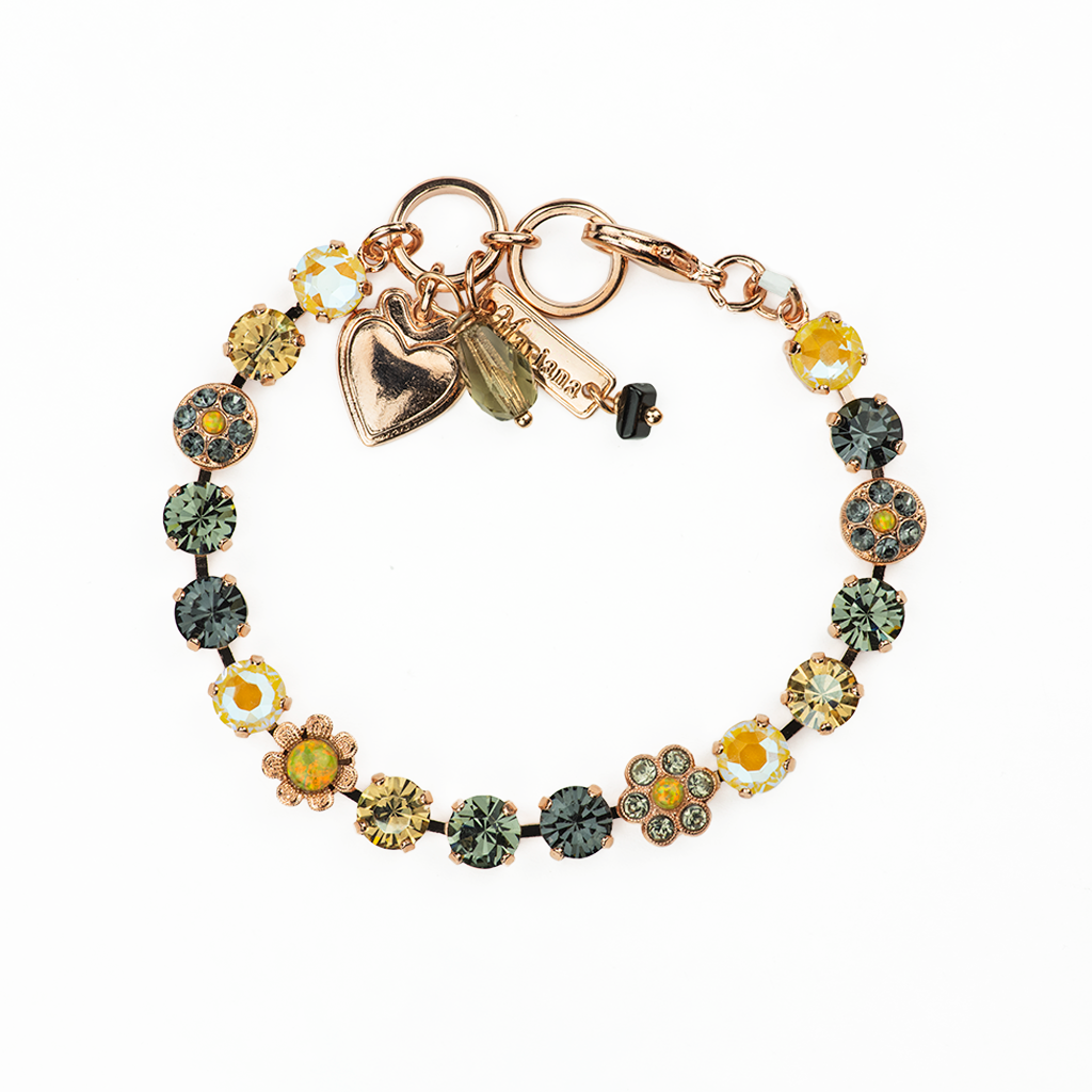 "Must-Have Rosette and Cluster Bracelet in ""Painted Lady"" *Preorder*"