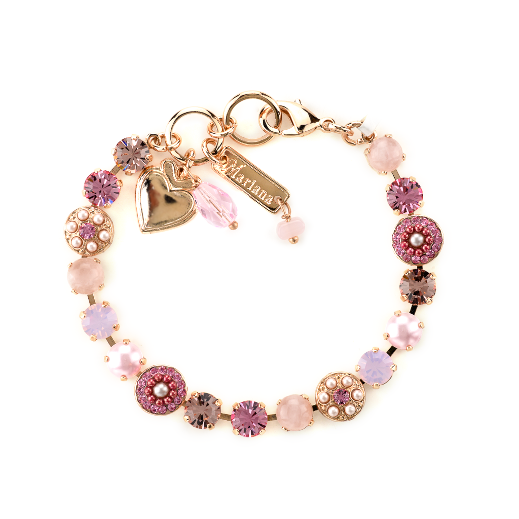 "Must-Have Rosette Bracelet in ""Love"" *Preorder*"