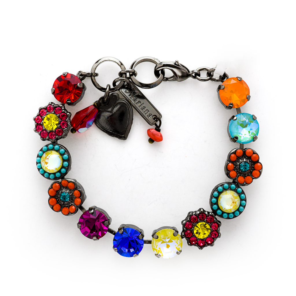 "Lovable Rosette Bracelet in Poppy"" *Preorder*"