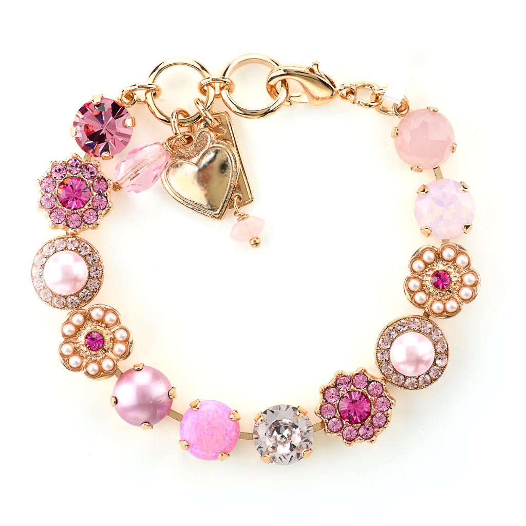 "Lovable Rosette Bracelet in ""Love"" *Preorder*"