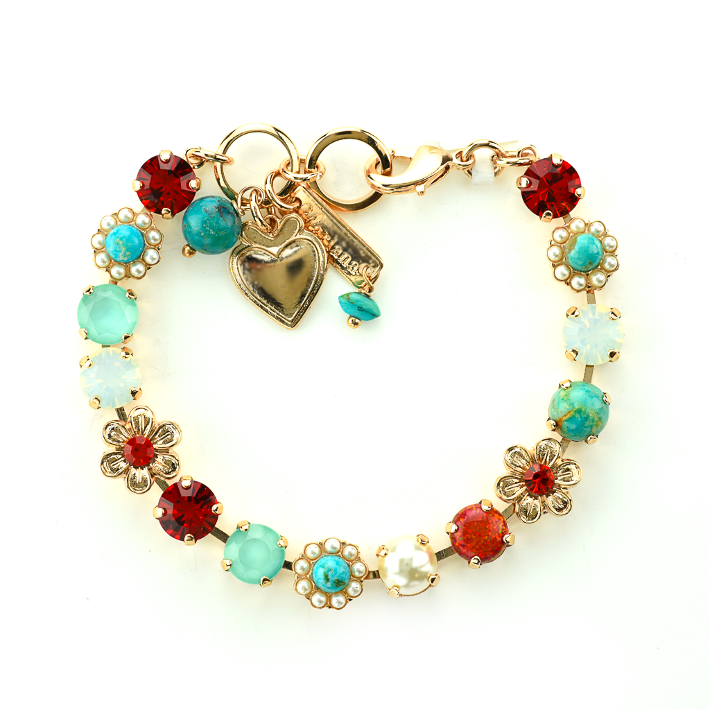 "Must-Have Daisy Bracelet in ""Happiness-Turquoise"" *Preorder*"