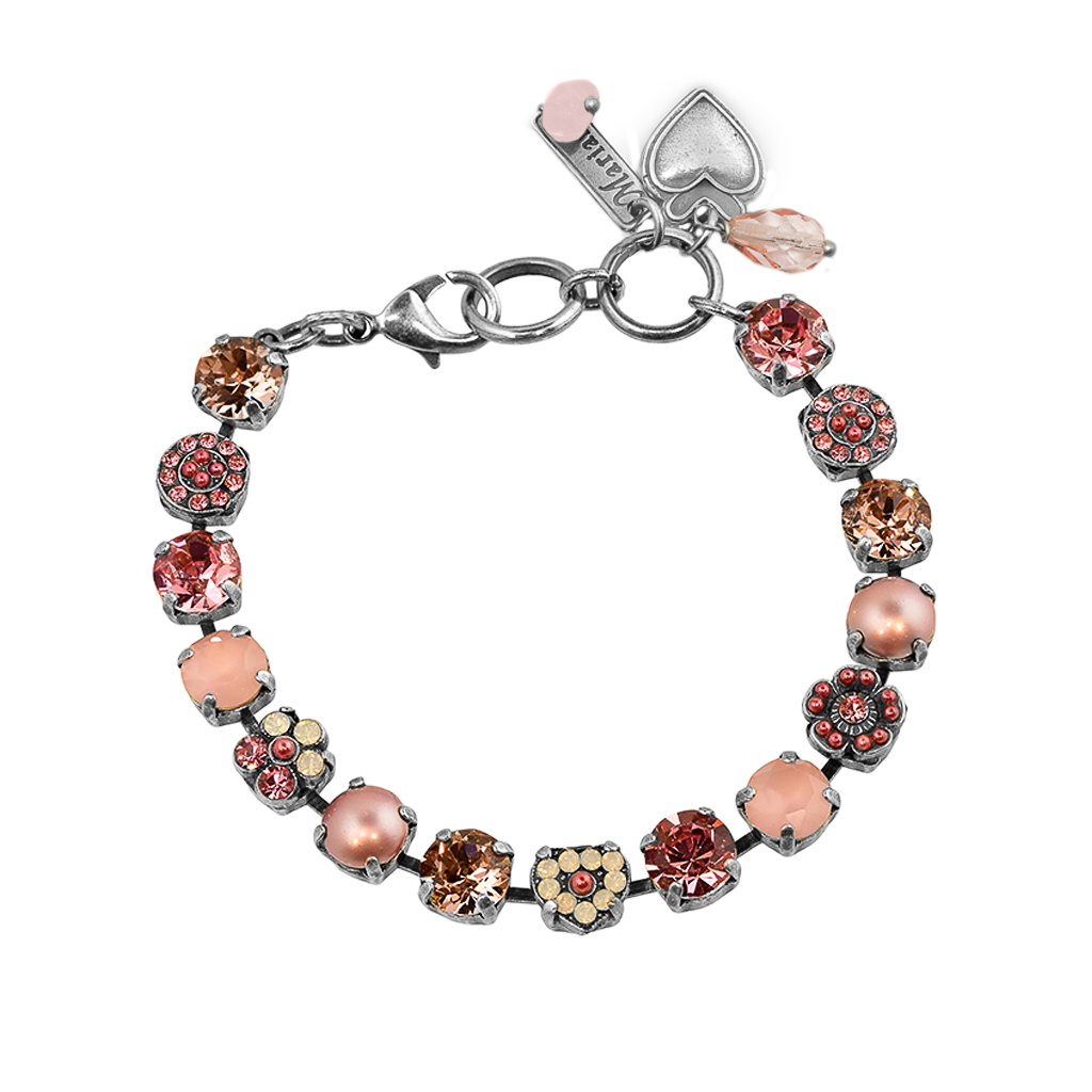 "Must-Have Rosette and Heart Bracelet in ""Antigua"" *Preorder*"