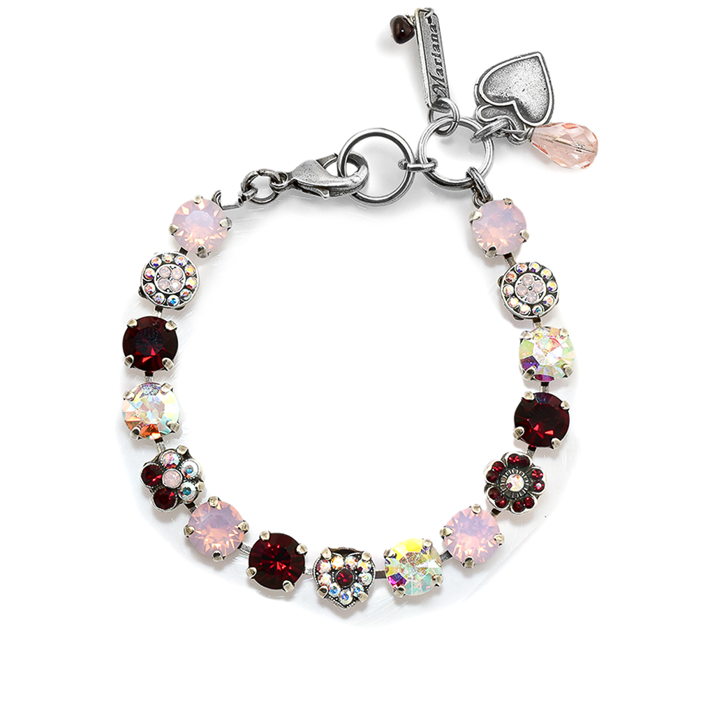 "Must-Have Rosette and Heart Bracelet in ""True Romance"" *Preorder*"
