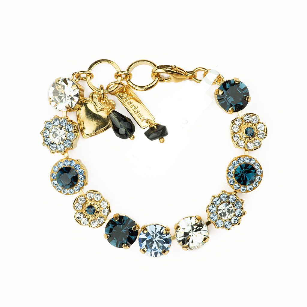 "Lovable Rosette Bracelet in ""Night Sky"" *Preorder*"