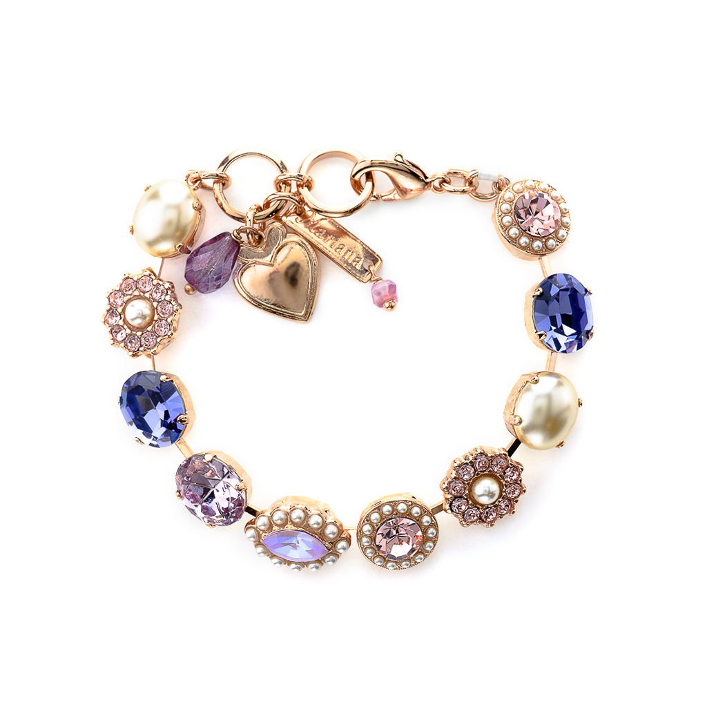 "Oval and Cluster Bracelet in ""Romance"" *Preorder*"