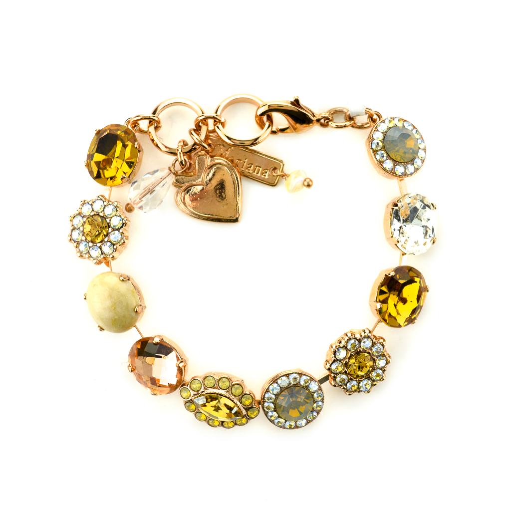 "Oval and Cluster Bracelet in ""Peace"" *Preorder*"