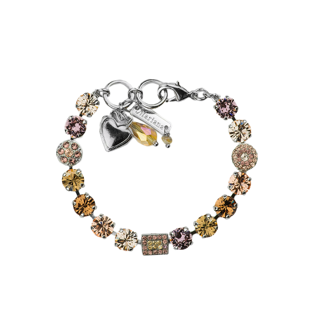 "Must-Have Cluster and Pave Bracelet in ""Meadow Brown"" *Preorder*"