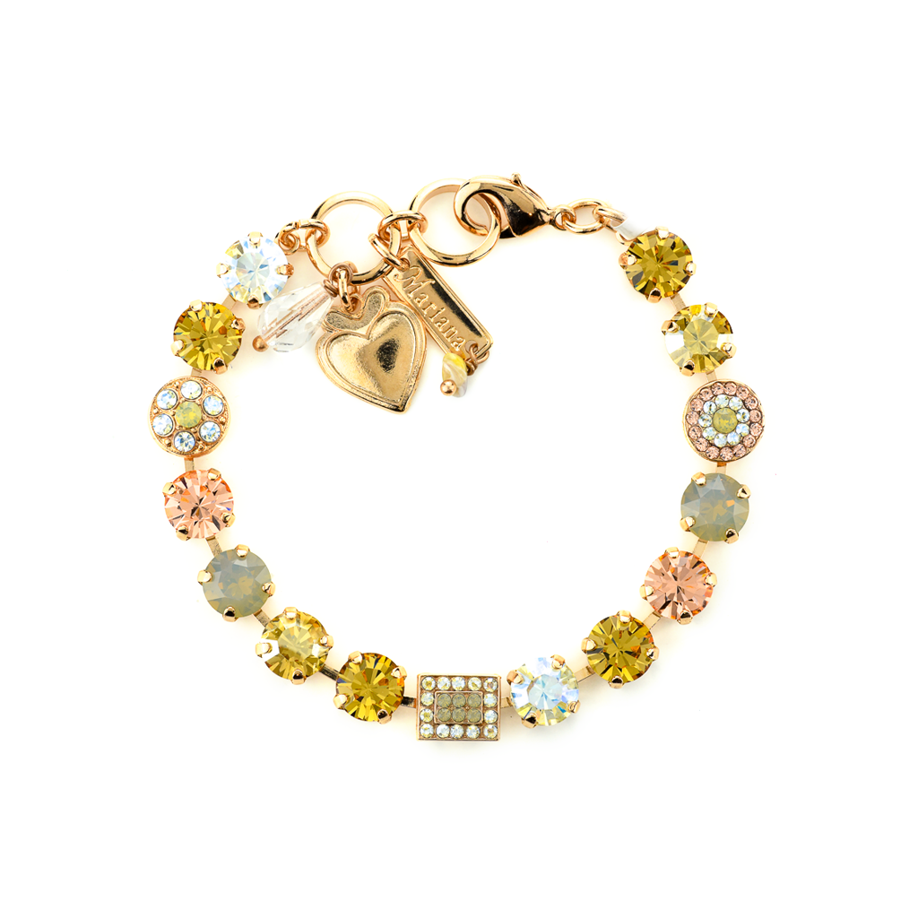 "Must-Have Cluster and Pave Bracelet in ""Peace"" *Preorder*"