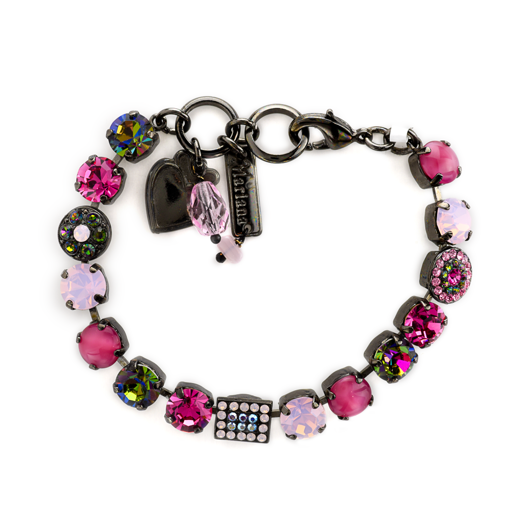 "Must-Have Cluster and Pave Bracelet in ""Vitral Pink"" *Preorder*"