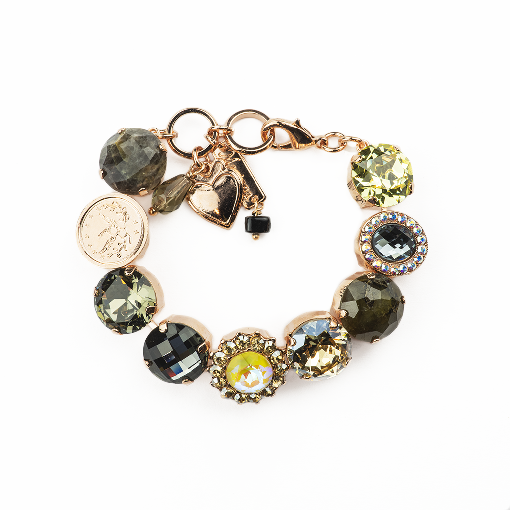 "Extra Luxurious Cluster Bracelet in ""Painted Lady"" *Preorder*"