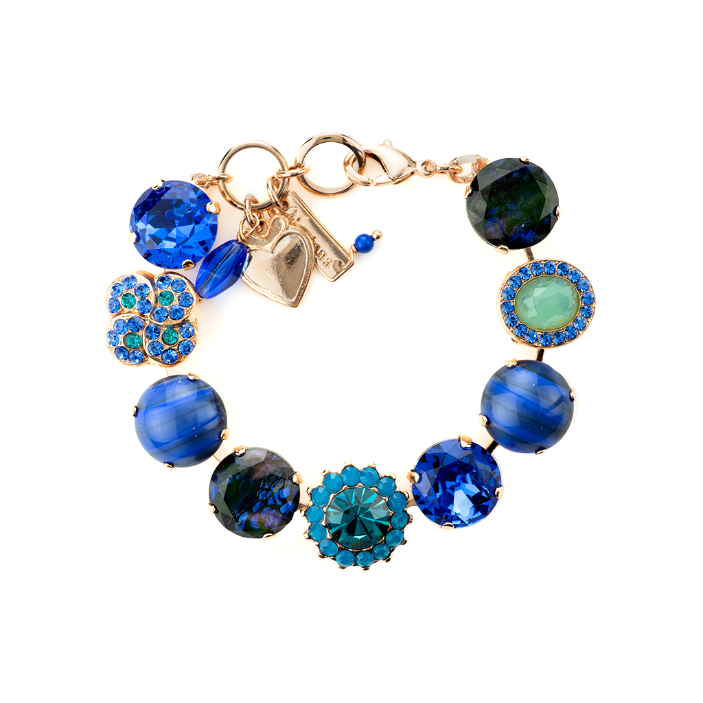 "Extra Luxurious Cluster Bracelet in ""Serenity"" *Preorder*"