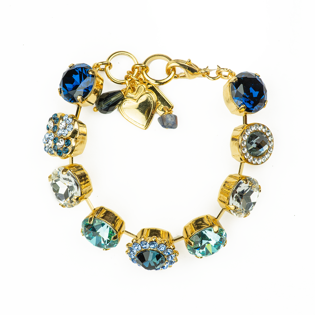"Extra Luxurious Cluster Bracelet in ""Night Sky"" *Preorder*"