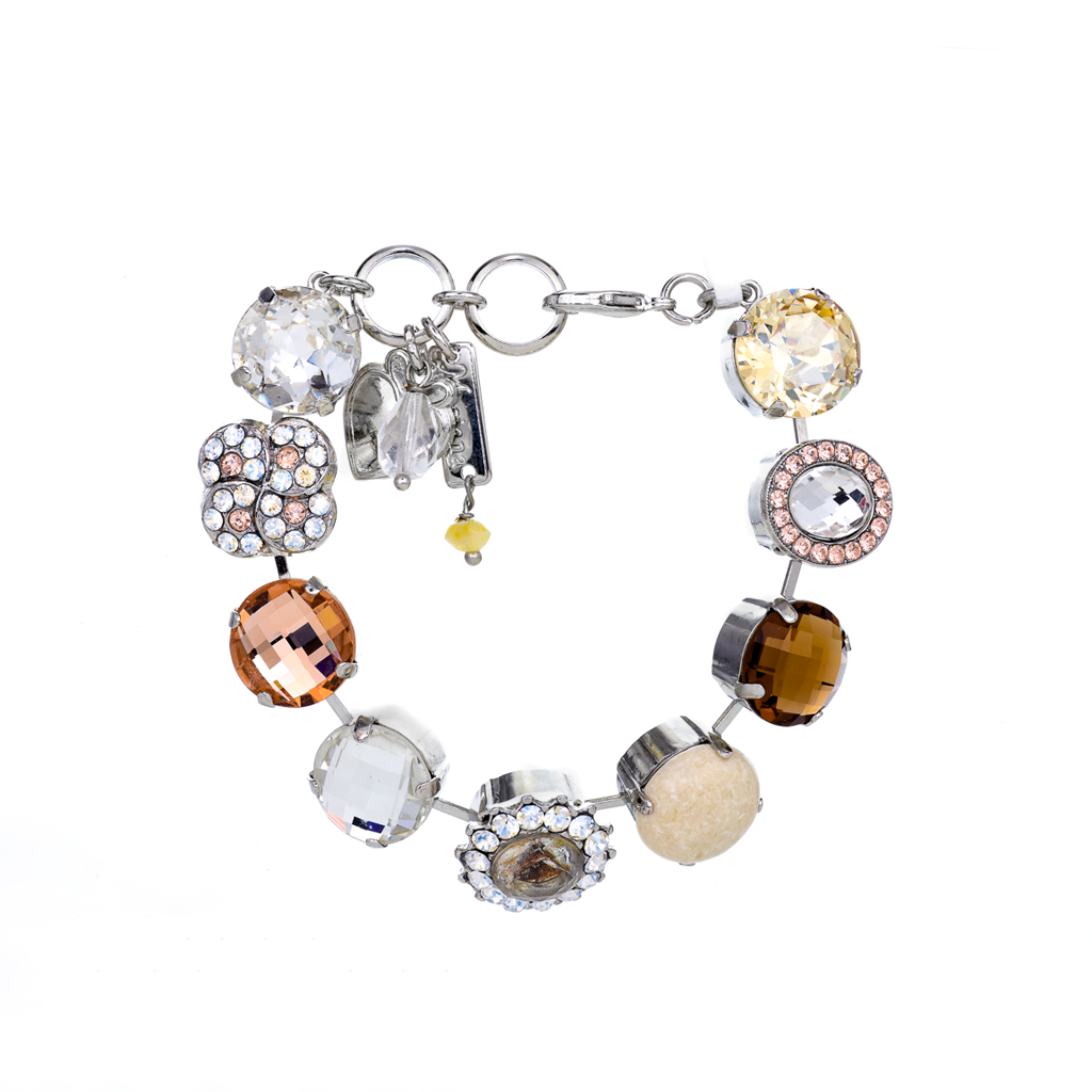 "Extra Luxurious Cluster Bracelet in ""Peace"" *Preorder*"