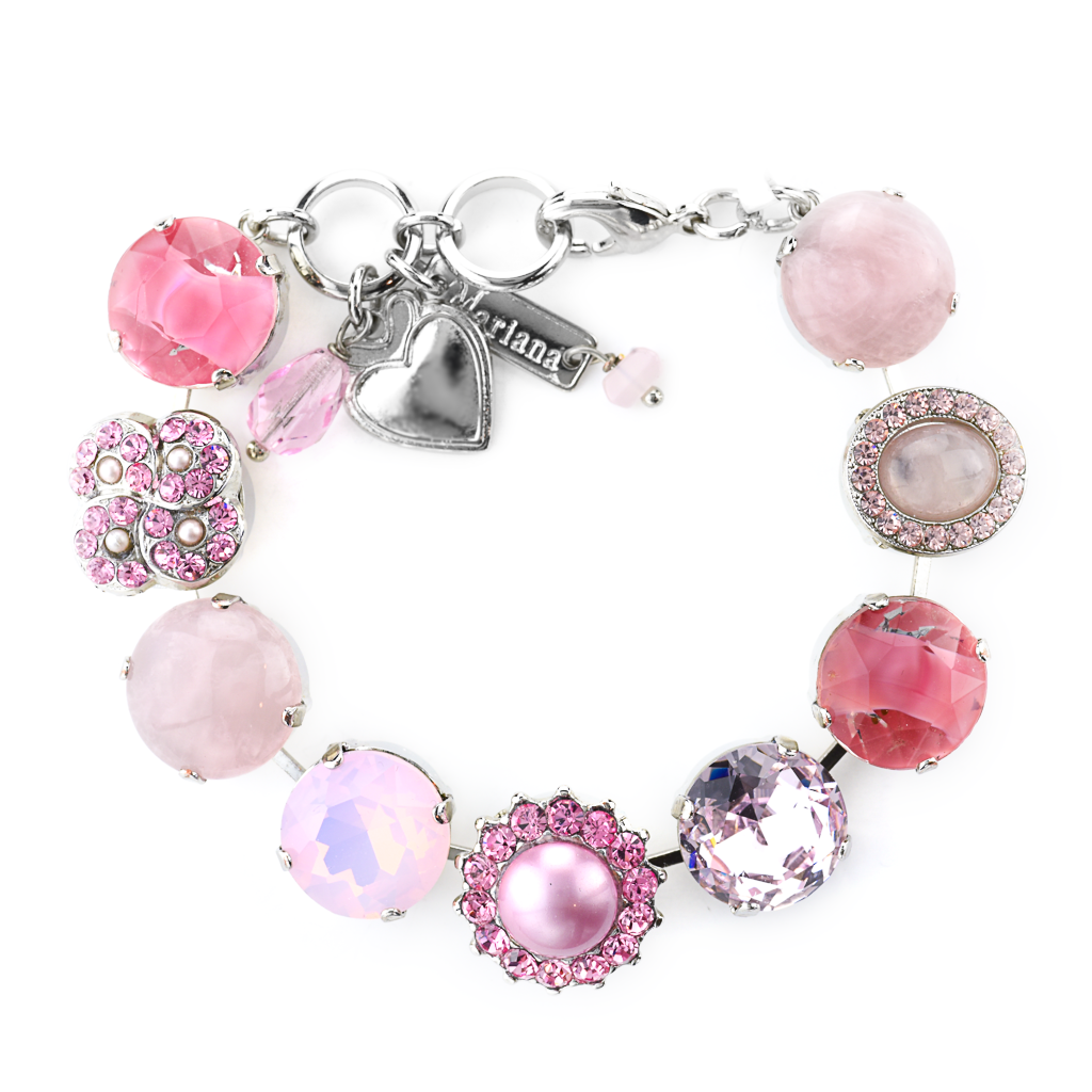 "Extra Luxurious Cluster Bracelet in ""Love"" *Preorder*"