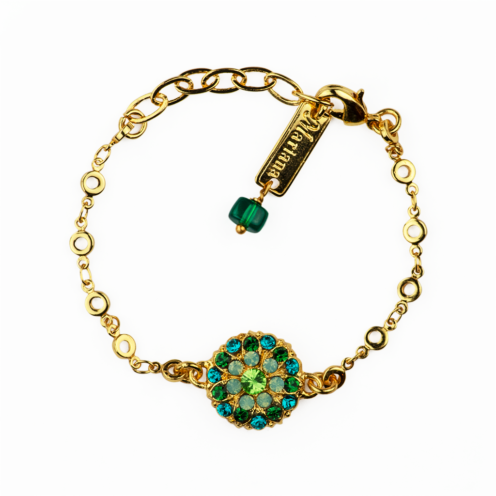 "[Yellow Gold] Guardian Angel Bracelet ""Ivy"""