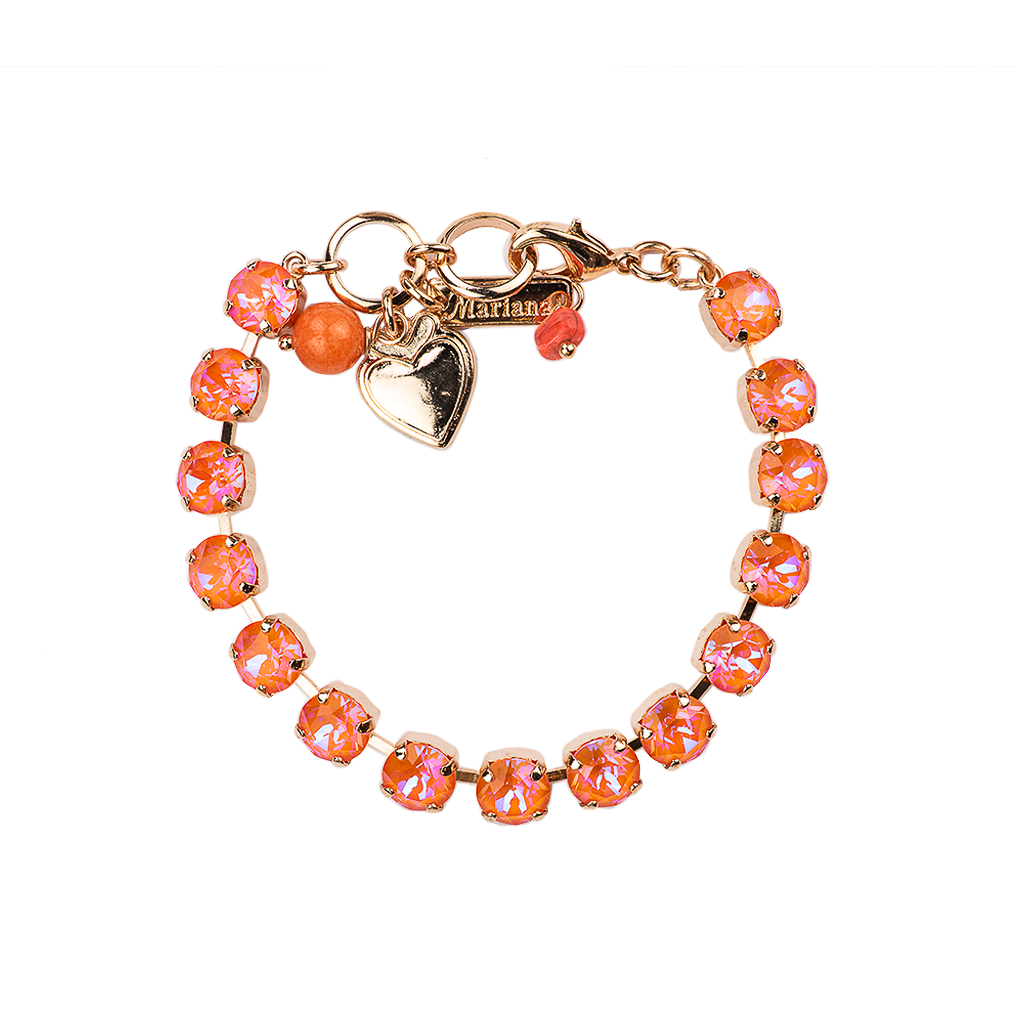 "Must-Have Everyday Bracelet in Sun-Kissed ""Sunset"" - Rose Gold"