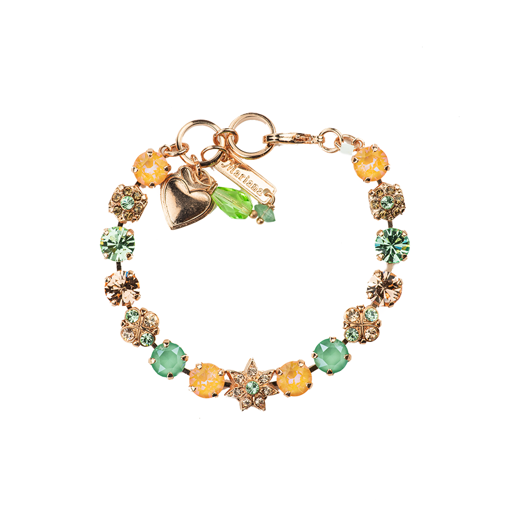 "Must-Have Flower and Cluster Bracelet in ""Monarch"" *Preorder*"