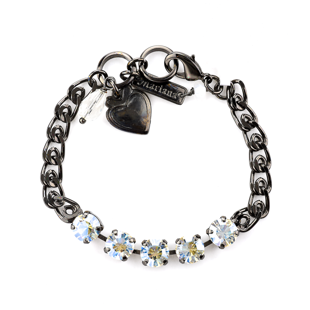 "Must-Have Five Stone Bracelet in ""Crystal Moonlight"" *Preorder*"