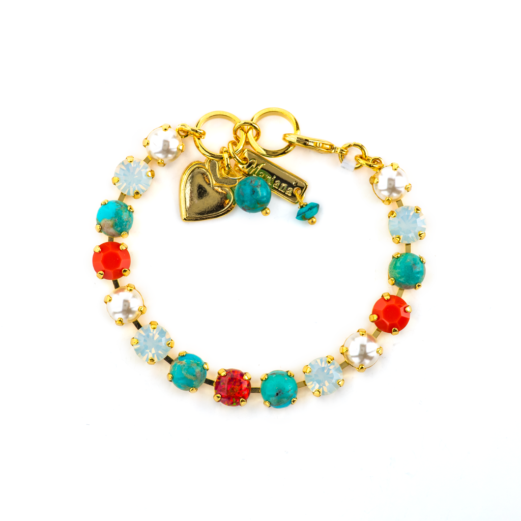 "Must-Have Everyday Bracelet ""Happiness-Natural Turquoise"" *Preorder*"