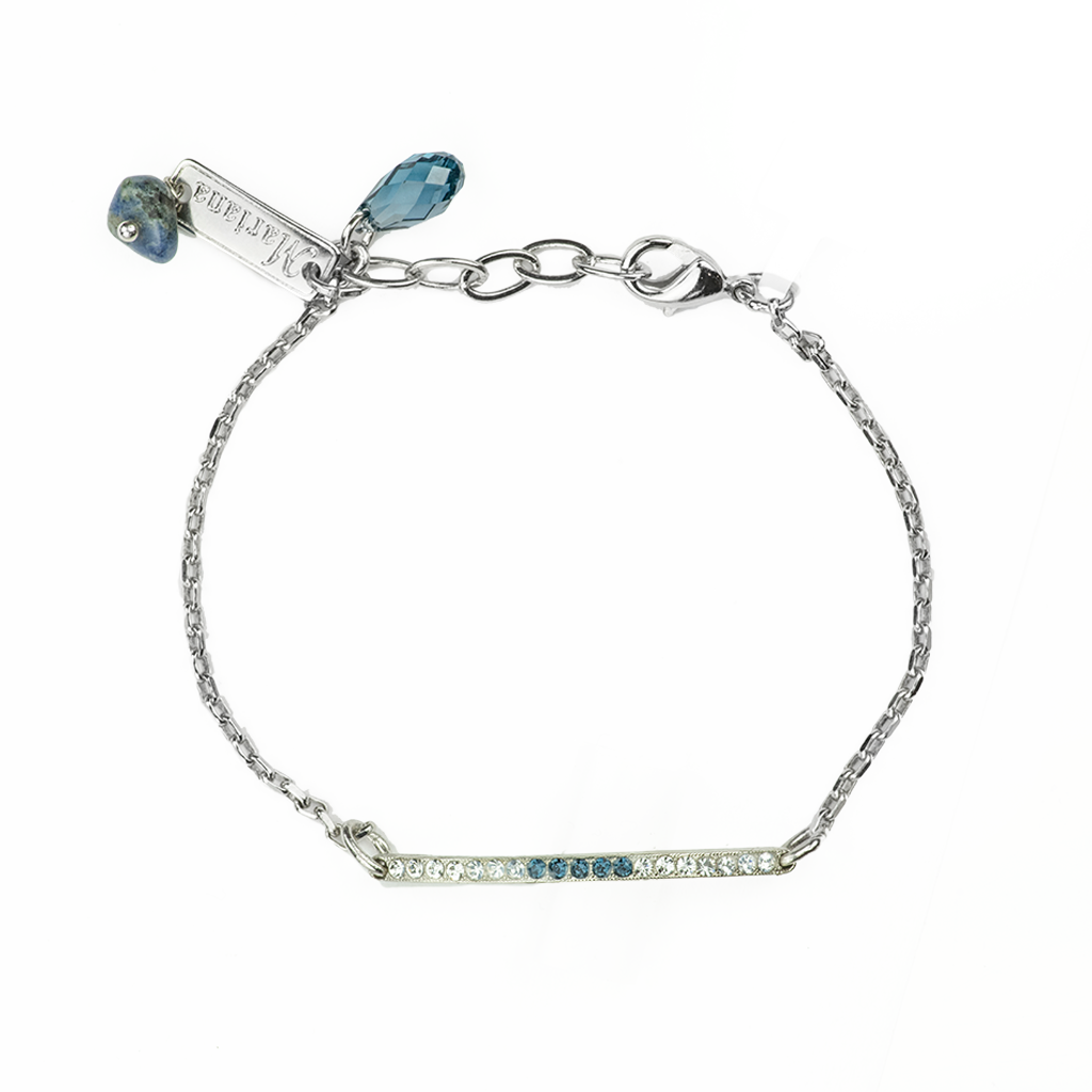 "Horizontal Bar Bracelet in ""Night Sky"" *Preorder*"