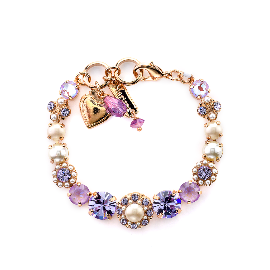 "Round Must-Have Bracelet with Rosettes in ""Romance"" *Preorder*"