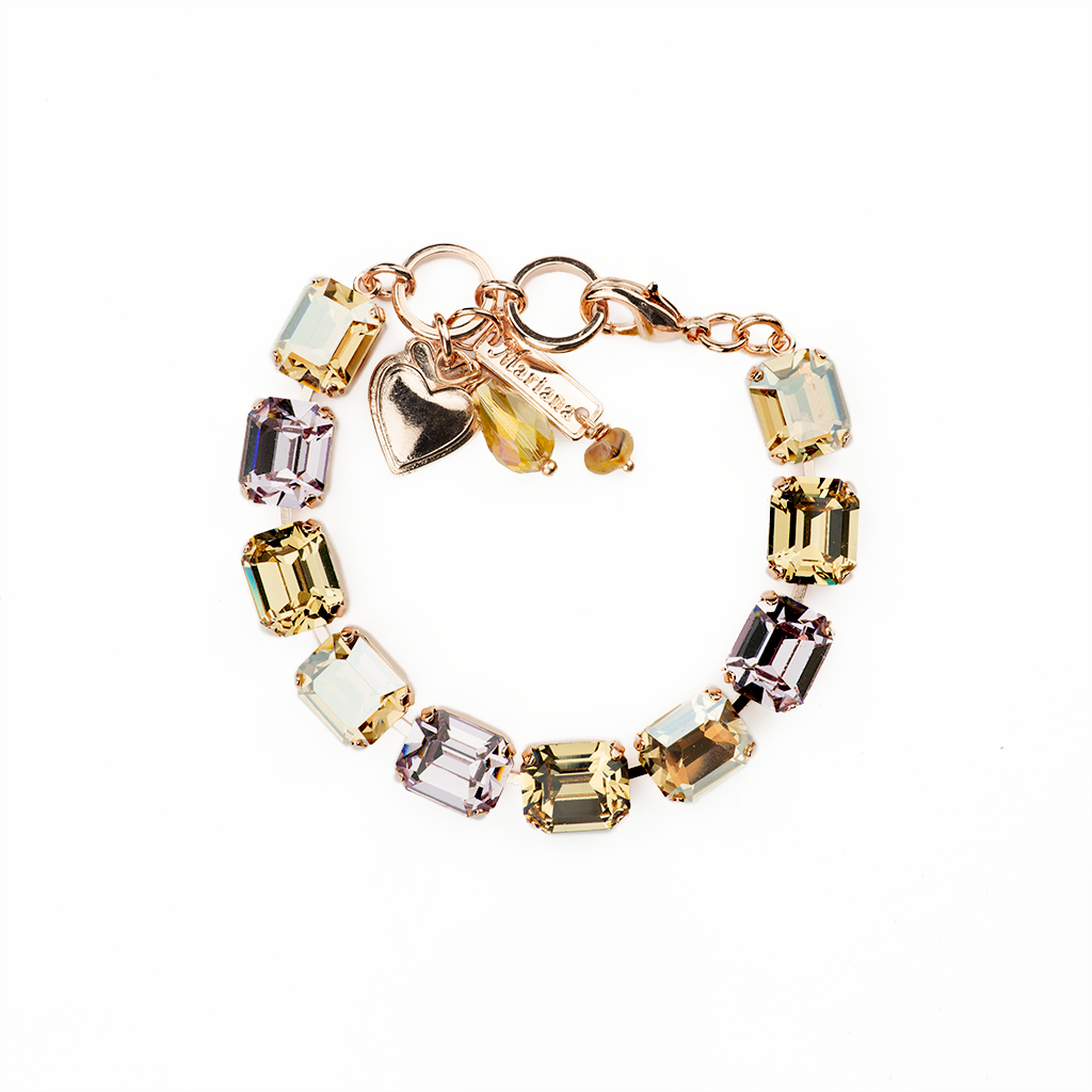 "Emerald Cut Bracelet in ""Meadow Brown"" *Preorder*"