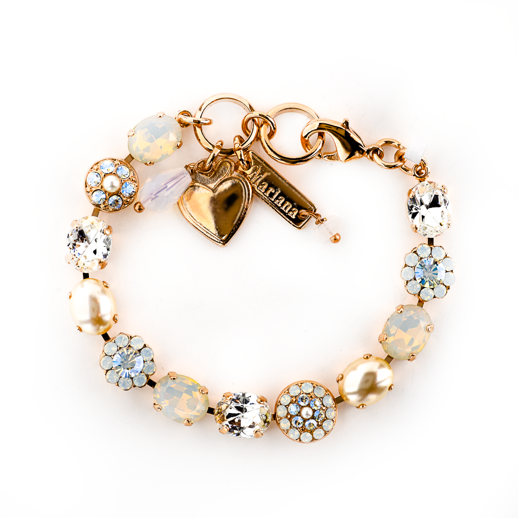 "Must-Have Oval and Pave Bracelet in ""Bermuda"" *Preorder*"