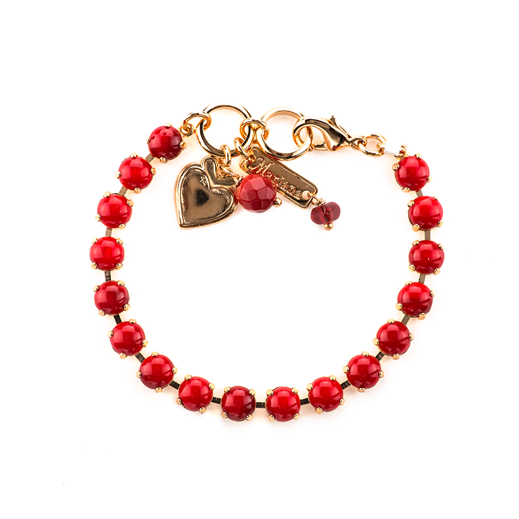 "Petite Bracelet in ""Cherry Red"" *Preorder*"