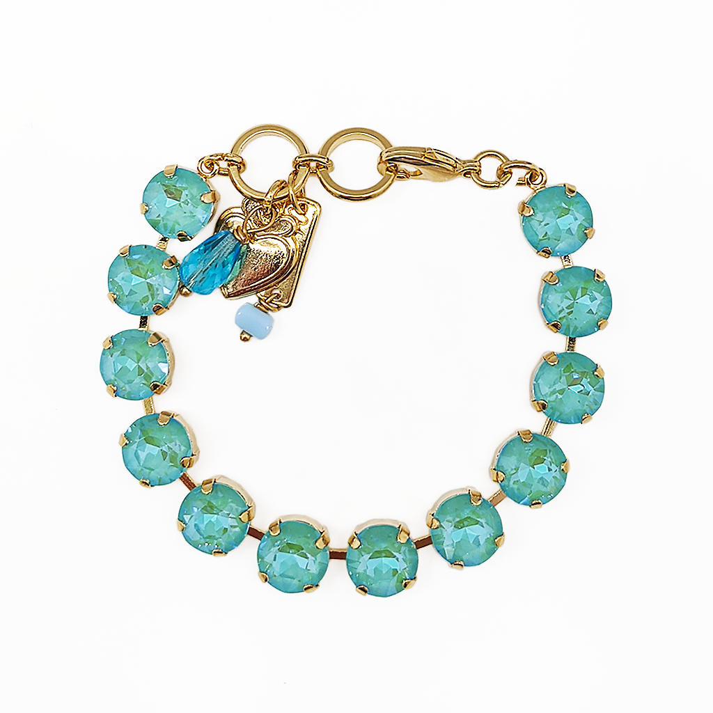 "*Preorder* Lovable Round Bracelet in Sun-Kissed ""Aqua"""