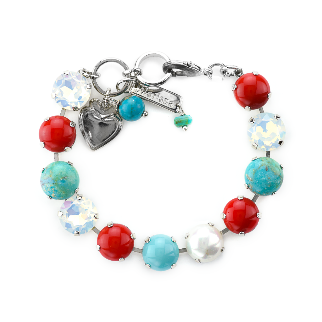 "Lovable Bracelet in ""Happiness-Turquoise"" *Preorder*"
