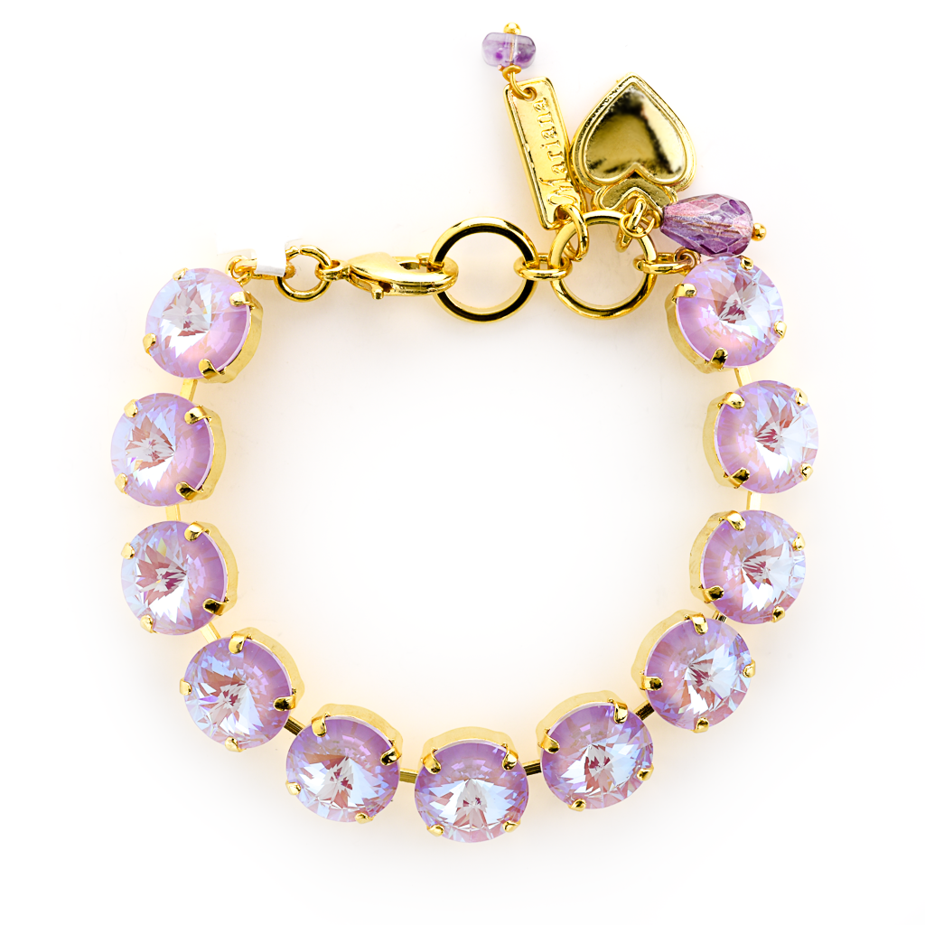 "Lovable Everyday Rivoli Bracelet in Sun-Kissed ""Lavender"" *Preorder*"