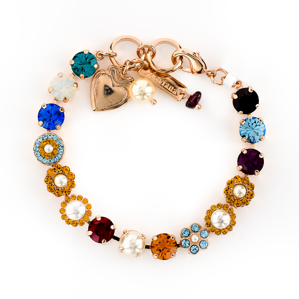 "Must-Have Rosette Bracelet in ""Autumn Breeze"" *Preorder*"