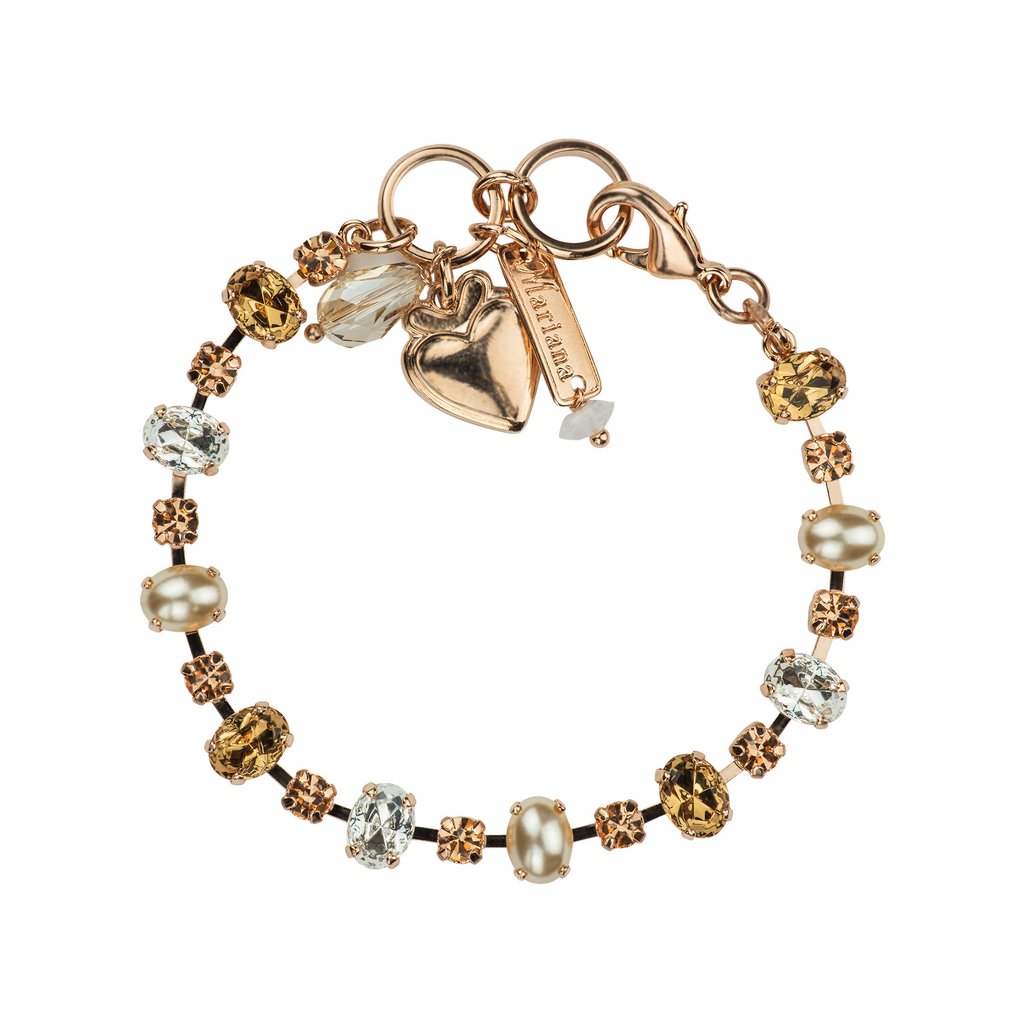 "[Rose Gold] Bridal Must-Have Bracelet ""Blush"""