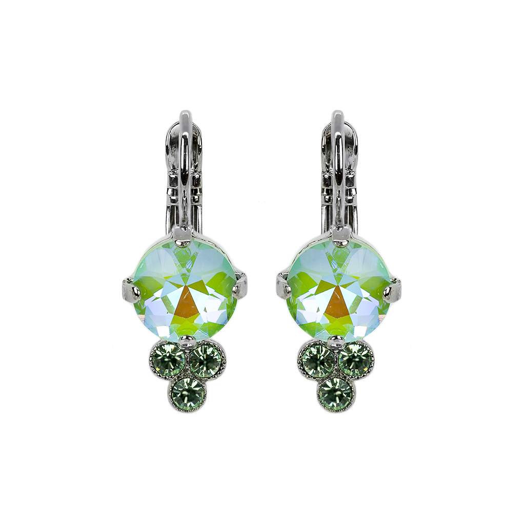 "IN STOCK 147 Sun-Kissed ""Peridot"" [Rhodium]"