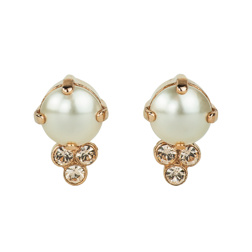 "Bridal Post Earrings ""Barbados"" *Preorder*"