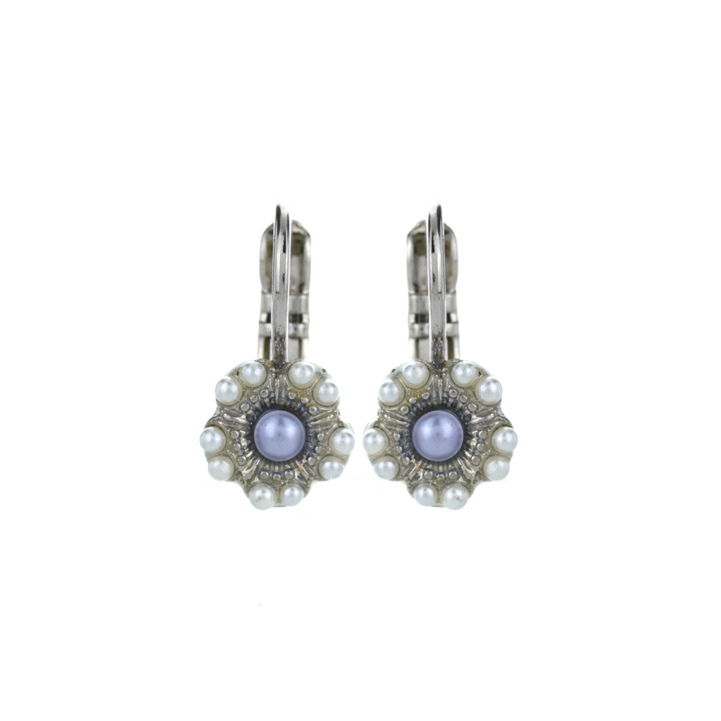 "Petite Cosmos Leverback Earrings in ""Romance"" *Preorder*"