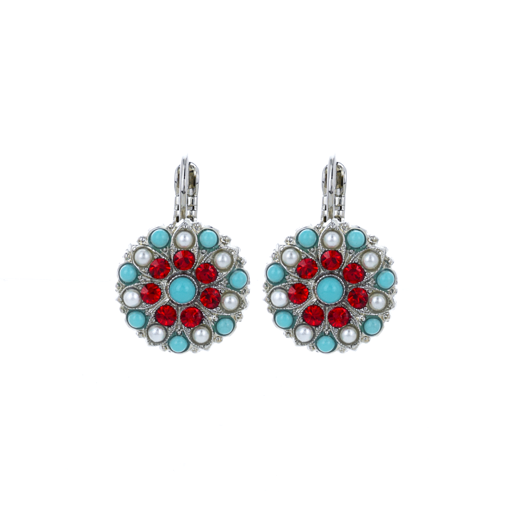"Guardian Angel Leverback Earrings in ""Happiness"" *Preorder*"