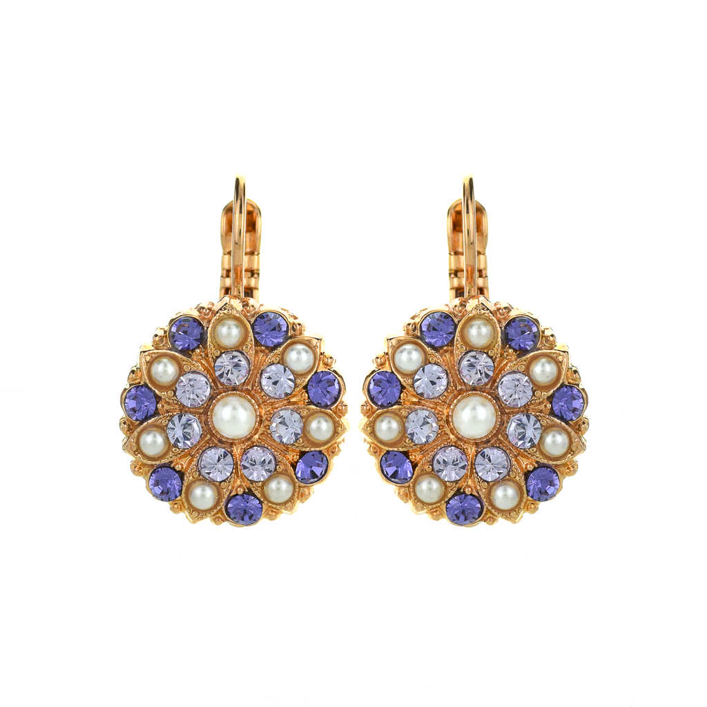 "Guardian Angel Leverback Earrings in ""Romance"" *Preorder*"